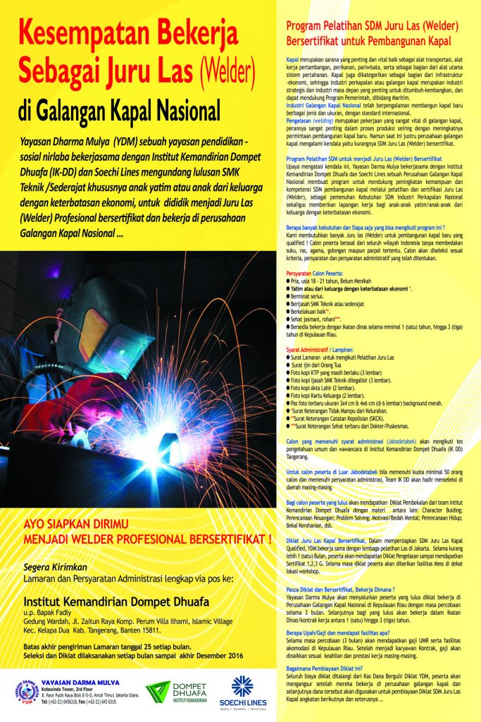 2016 desain poster diklat welder 175